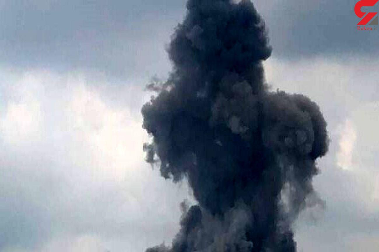انفجار هولناک در شهرک صنعتی رازی شهرضا / دقایقی قبل رخ داد