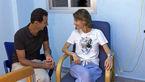 همسر رئیس جمهور به سرطان مبتلا شد + عکس