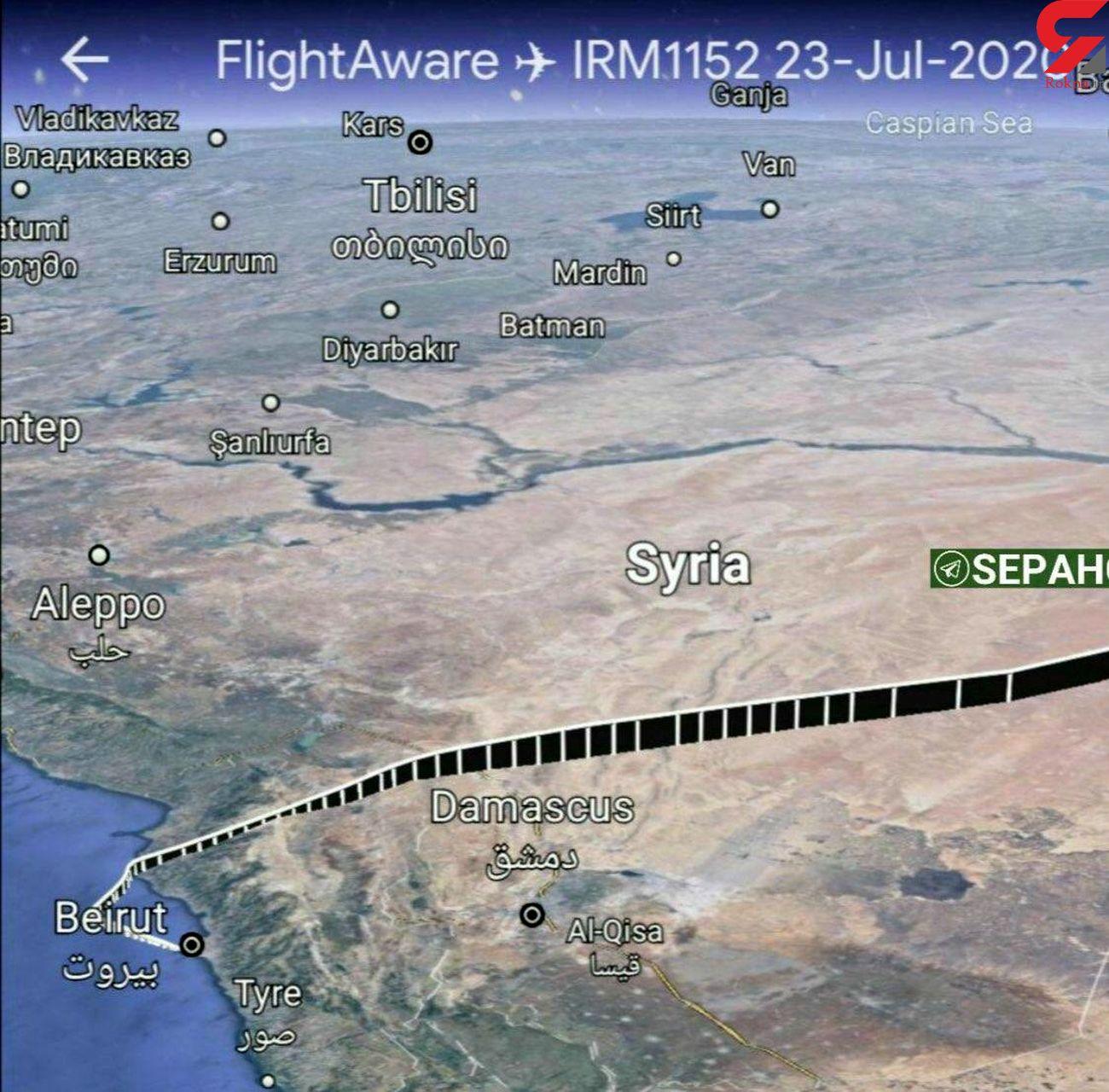 اولین واکنش آمریکا به مزاحمت جنگنده اف ۱۵ به هواپیمای مسافری ایران