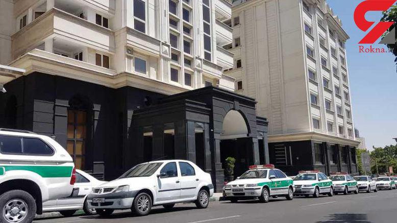 اولین عکس و گزارش اختصاصی از محل قتل همسر دوم نجفی شهردار سابق تهران + جزییات