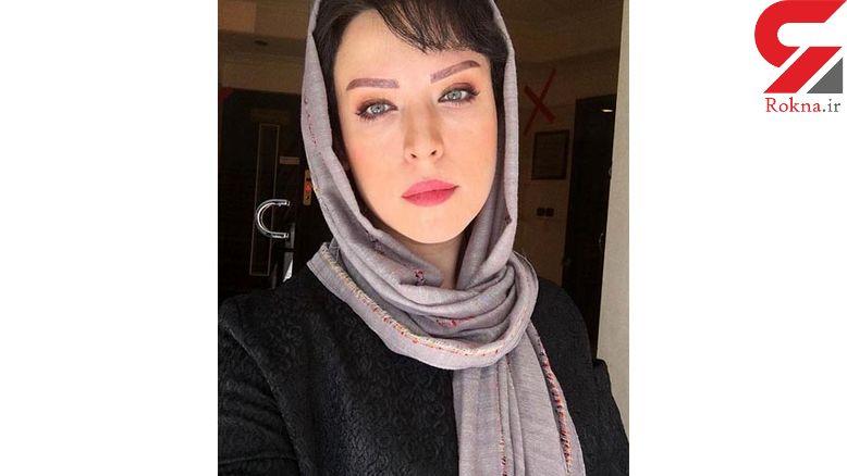 نگاه مات و مبهوت بازیگر زن سریال «ملکوت»