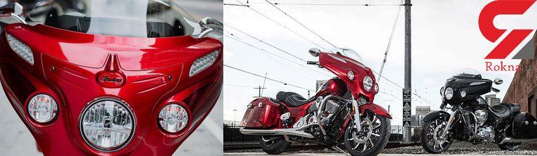 رونمایی از موتورسیکلت جدید ایندین +عکس