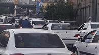 ترافیک سنگین صبحگاهی تهران / روز شنبه 13 شهریور