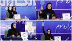 حضور داوران زن ایرانی در کشتی مردان +عکس