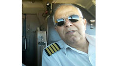 تلگرام کاپیتان فولاد پس از سقوط هواپیما  آنلاین شد!؟