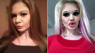 اقدام عجیب دختر دانشجو برای جذب کردن مردان مجرد / او بزرگترین لب دنیا را دارد + عکس