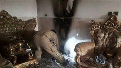 اتصالی برق در تهران آتش به پا کرد