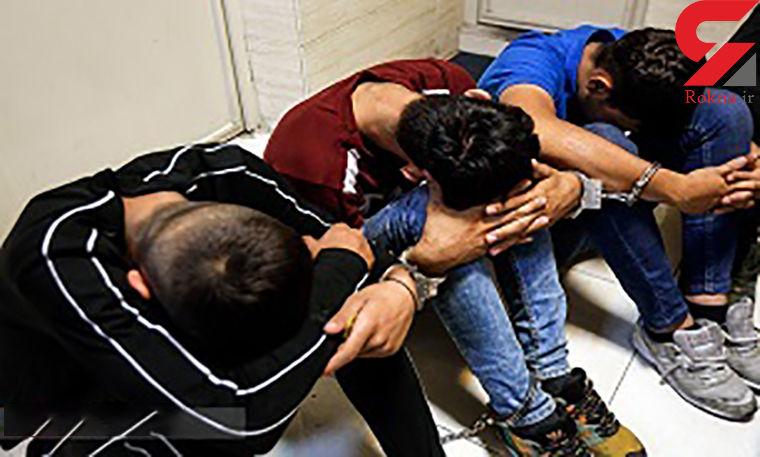 3 گنده لات با سانتافه جنوب تهران را به هم ریختند ! / همه وحشت کردند ! + عکس