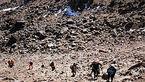 6 ساعت خطرناک برای کوهنورد گمشده در ارتفاعات یافته کوه لرستان