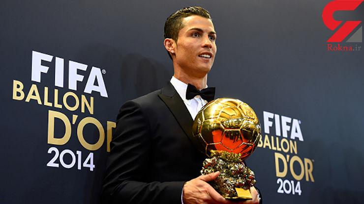رونالدو: شانس نخست دریافت توپ طلا هستم