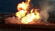 اقدام انتحار زن 25 ساله در  انفجار خط لوله گاز ایران به ترکیه / روشن شناسایی شد + فیلم و عکس