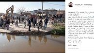 جوانان شجاع گلستانی از یک فاجعه بزرگ جلوگیری کردند+ عکس و واکنش محسن رضایی