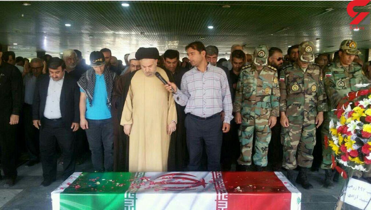 جزییات مراسم تشییع جنازه شهید سرهنگ عبدالرحیم میرزاوند+ عکس