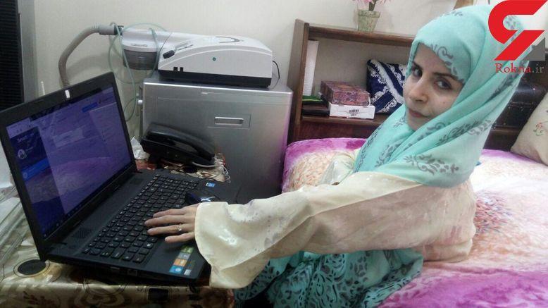 ماجرای پول درآوردن فزانه دختری معلول با 200 استخوان شکسته+ عکس