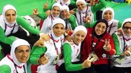 توانایی بی نظیر دختر معلول اصفهانی در رشته والیبال + فیلم