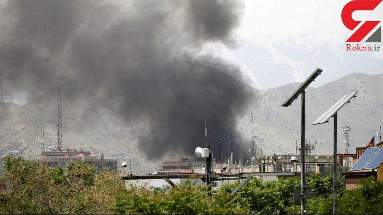 انفجار در مرکز کابل+عکس