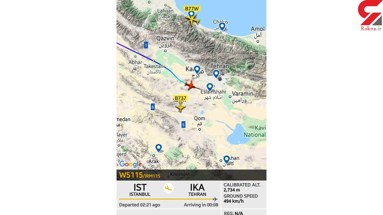 اولین واکنش وزیر راه به اتفاقات پرواز ترکیش
