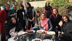 دور همی پرتعداد بازیگران زن معروف ایرانی در باشگاه انقلاب به صرف کیک و چای! +عکس