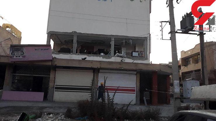 سوختگی شدید نوجوان اصفهانی  بر اثر انفجار در منزل مسکونی+ عکس