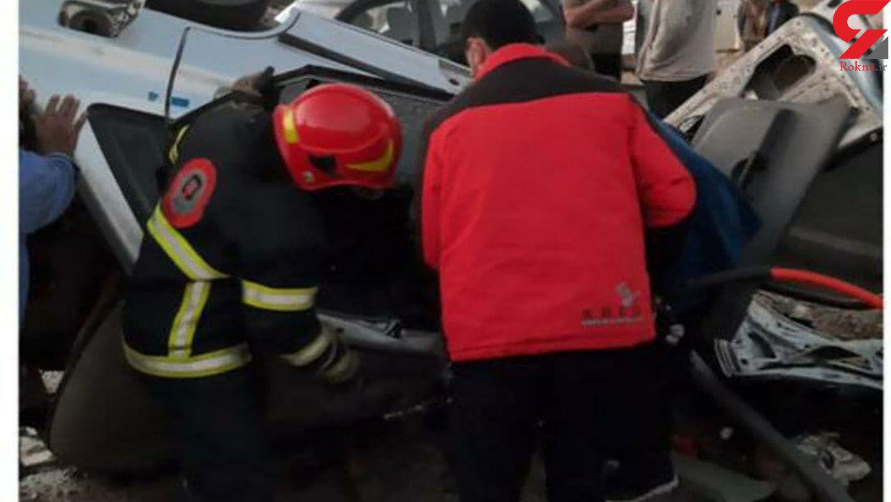 مرگ 6 زن و مرد در  محور قدیم ساوه - تهران / امروز رخ داد + عکس