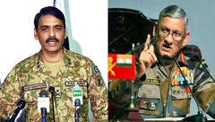 افزایش تنش لفظی بین فرماندهان نظامی هند و پاکستان