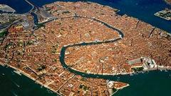 زیباترین منظره هوایی از ونیز