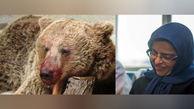 گفتوگو با زن مازنی که فیلم لحظه کشتن توله خرس را گرفت / مردها حرفم را گوش نکردند / خرس مادر همه چیز رادید! + عکس