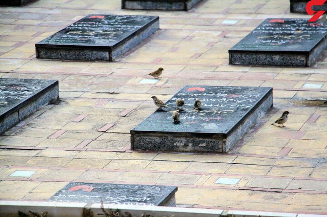 سنگ قبر ۵۰میلیون تومانی در تهران