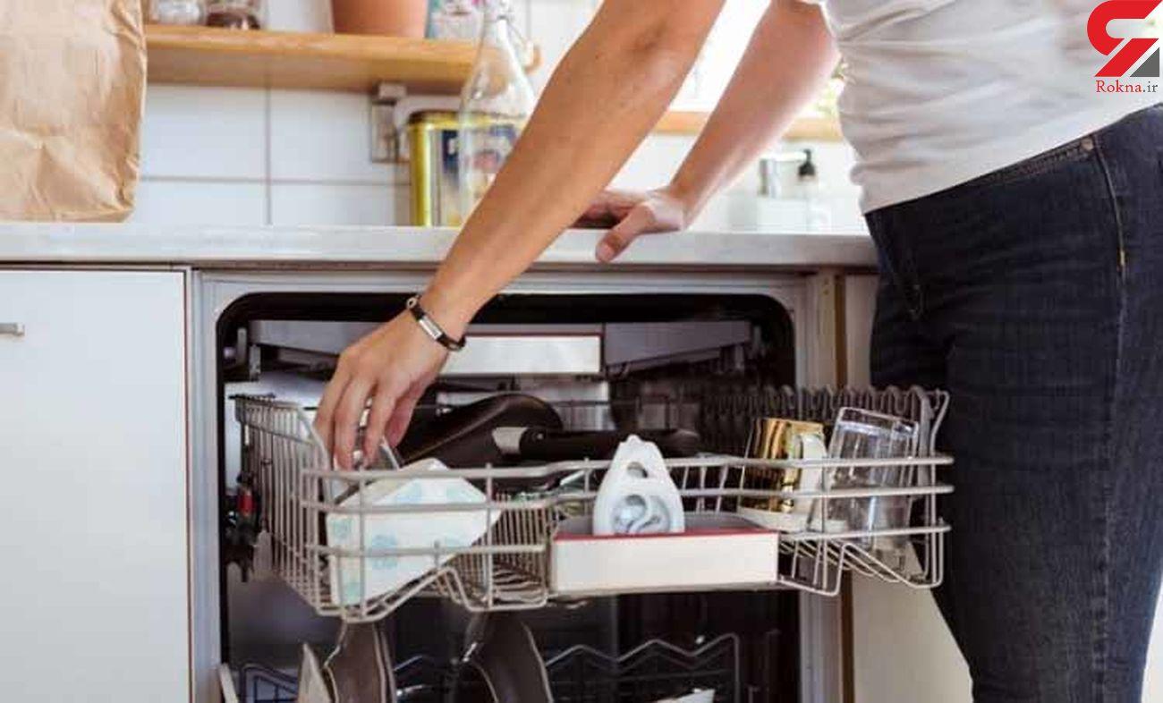 تمیز کردن ماشین ظرفشویی با ساده ترین روش ها