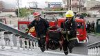 آتش سوزی مطب پزشکی در آستارا