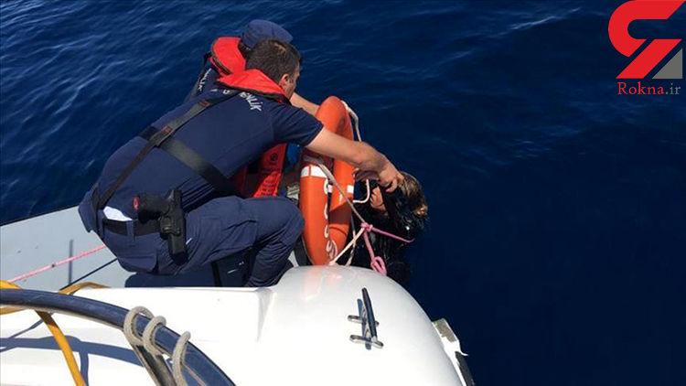 واژگونی قایق حامل مهاجران در دریای اژه