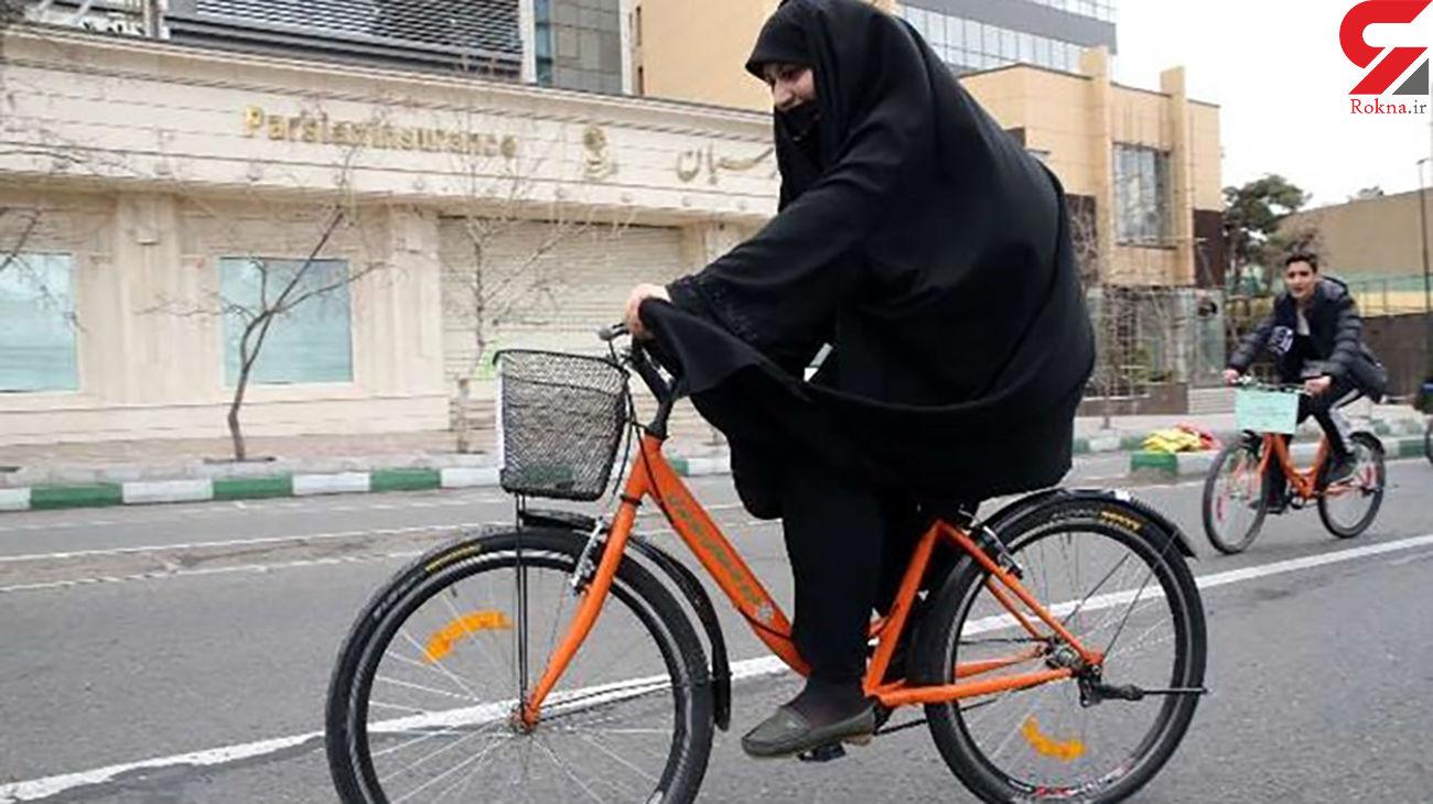 ستاد امر به معروف و نهی از منکر خراسان رضوی ممنوعیت دوچرخه سواری زنان را اجرایی کرد
