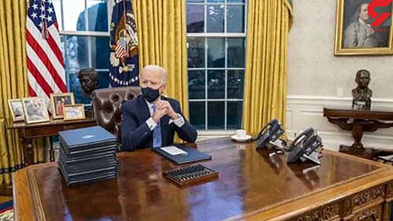 حذف دکمه نوشابه و تغییر تابلوها در اتاق کار جو بایدن در کاخ سفید
