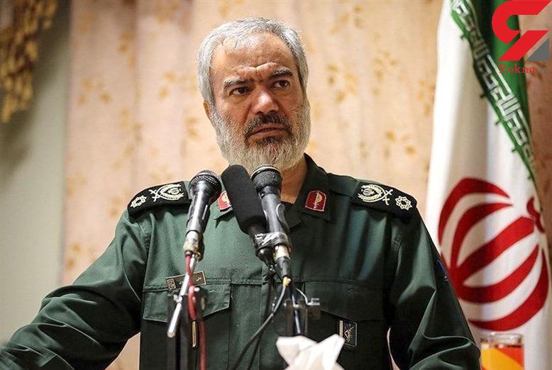 دریادار فدوی: حضور مردم در 22 بهمن سبب ناامیدی دشمنان است