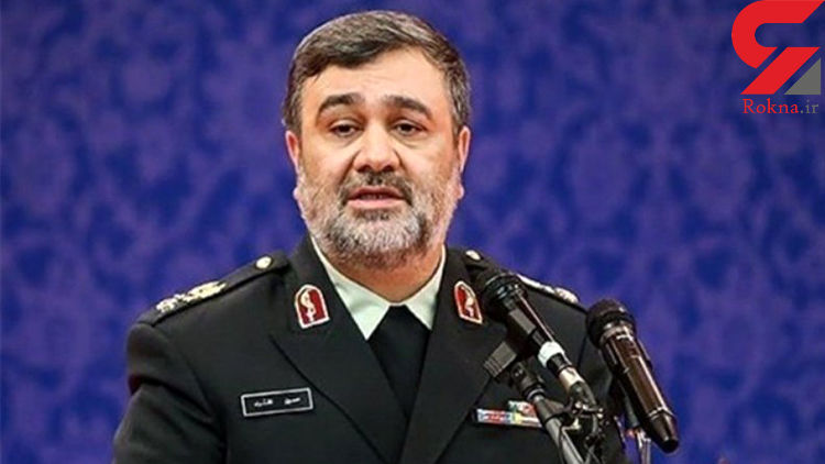پیام تسلیت فرمانده ناجا به حاج سید حسن نصرالله
