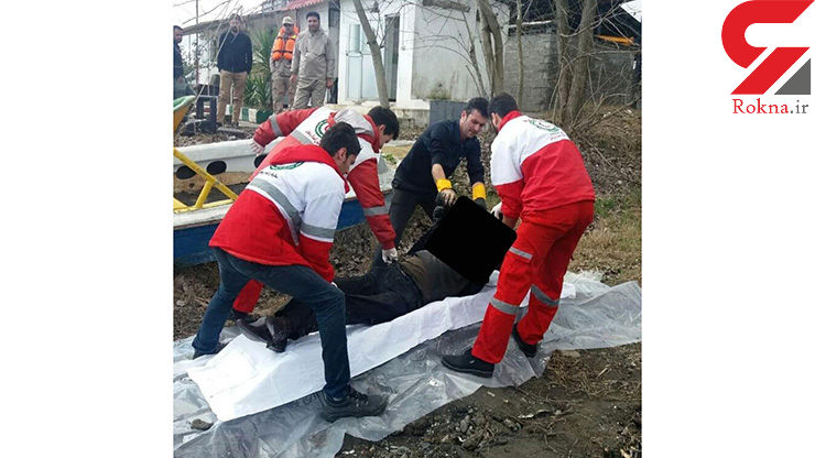 تصویر وحشتناک از جسدی که زیر پل غازیان بندرانزلی پیدا شد+ عکس