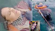 پیکر زن فراری در دریا پیدا شد / ترس از مرد روانی انگیزه خودکشی+ فیلم