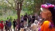 بازداشت زن بد حجاب بخاطر جنجال ویدئوی آوازخوانی اش در ابیانه کاشان ! + جزییات و عکس