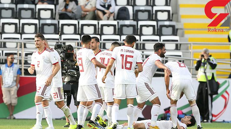 حریف ملی پوشان ایران در مرحله حذفی جام ملتهای آسیا ۲۰۱۹ کدام تیم است؟