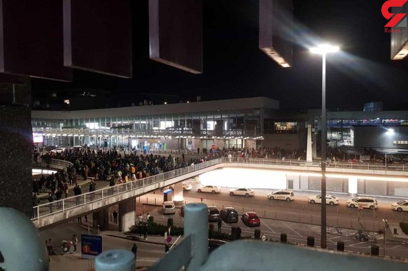 تخلیه فرودگاه بین المللی فرانکفورت به خاطر احتمال حمله مسلحانه