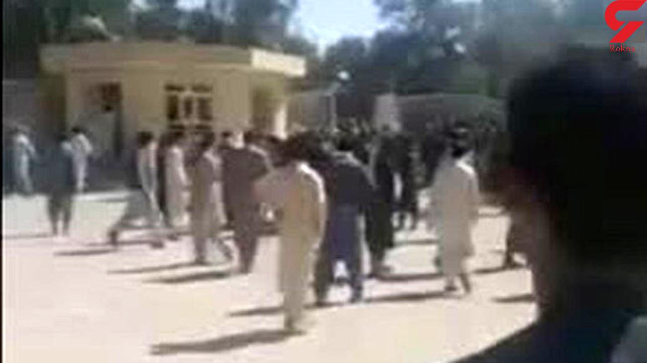 فیلم / آخرین خبر از حمله مسلحانه به پاسگاه سراوان