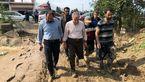 پوشش عجیب معاون رئیس جمهور در بازدید از مناطق سیل زده + عکس