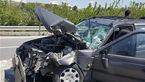 تصادف شدید با یک کشته و 2 زخمی در دیر
