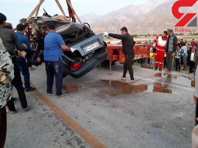 فاجعه مرگبار با 5 قربانی در بوشهر+ عکس