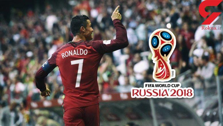 15 گل کریستیانو رونالدو برای تیم ملی پرتقال در مقدماتی جام جهانی + فیلم