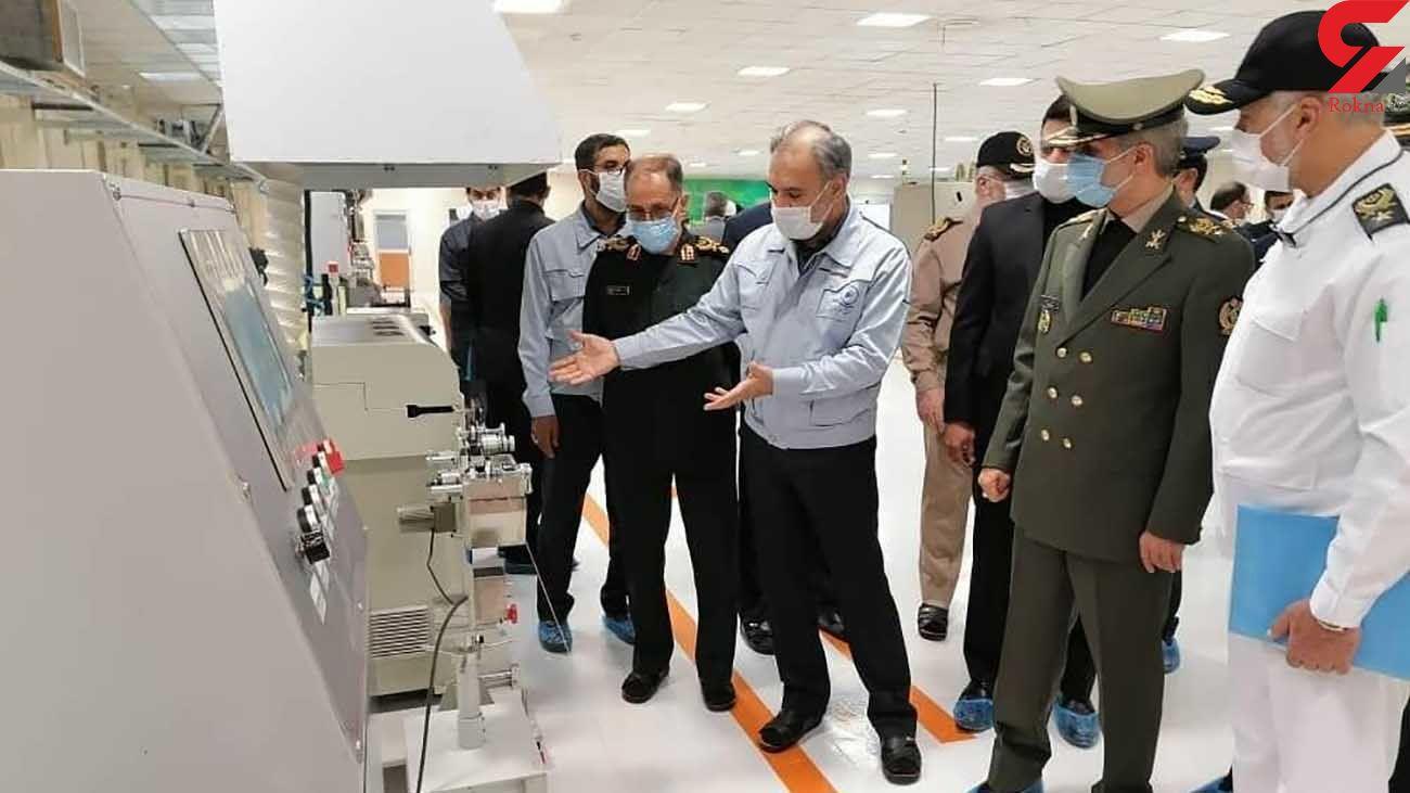 وزیر دفاع: ایران وارد لایههای عمیقتر خودکفایی شده است