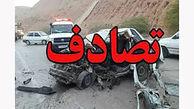 تصادف مرگبار در جاده قدیم قم _ کاشان/ 2 تن جان باختند
