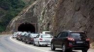 طولانیترین ترافیک در محور چالوس