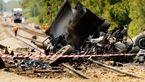 تصادف مرگبار 2 قطار