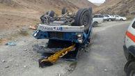 حادثه مرگبار پیکان و نیسان / 4 کشته و زخمی در چهارمحال و بختیاری